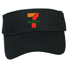 7 11 7 ELEVEN CONVENIENT MART MARKET GAS STATION SUN VISOR CAP HAT ADJUSTABLE