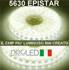 LED Strip 5630 luce naturale 4500k 5m 300LED la STRISCIA + LUMINOSA SUL MERCATO