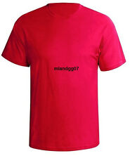 Mens T-shirt 100% Cotton Plain Short Sleeves Preshrunk Shirt First Quality S-5X