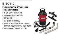 BRAND NEW SC412 Sanitaire Model SC412B Commercial Back Pack Vacuum Cleaner