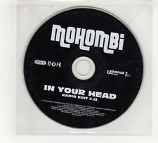 (GV444) Mohombi, In Your Head - 2010 DJ CD
