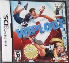NEW Nintendo DS Wipeout 2 TV Show Game Factory Sealed Free Shipping !