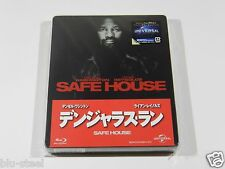 Safe House Blu-ray Steelbook [Japan] VERY RARE OOS/OOP