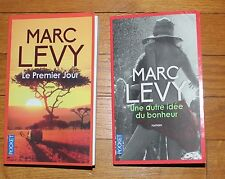 @ 2 Marc Levy :  Le Premier Jour - Une autre idée du bonheur- Edition Pocket