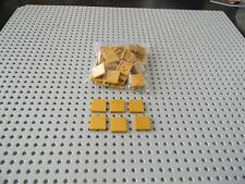 Lego Lot of New 2 x 2 Pearl Gold Tiles - New Condition!!