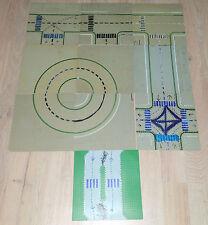 LEGO 10 Straßen Platten 32 x 32 Bauplatten Street Pattern grau gray B-Ware 2