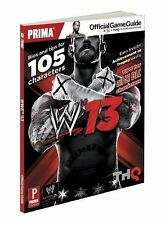 WWE 13: Prima Official Game Guide by Sumpter, Matt
