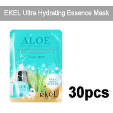 Korea Kosmetik 30pcs [EKEL] Aloe Ultra Hydrating Essence Masken 25g
