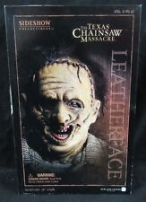 "Sideshow Texas Chainsaw Massacre Leatherface 12"" Figure MIB F831"