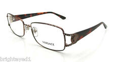 Authentic VERSACE Brown Rx Eyeglass Frame VE 1113B - 1045 *NEW*