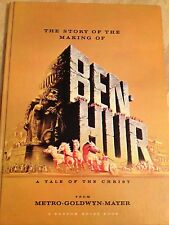 The Story of the Making of Ben-Hur, 1st Edition 1959 Color Foldout Posters Look!
