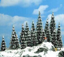 Busch 6566 -  Winter Fir Trees x 20 -  N/TT Gauge (30mm to 60mm) Tracked 48 Post