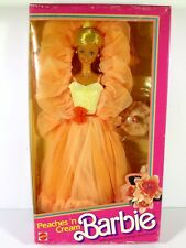 NIB BARBIE DOLL 1984 PEACHES 'N CREAM
