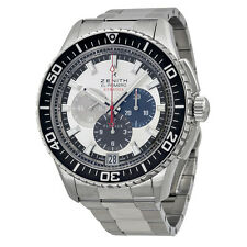 Zenith Mens El Primer Stratos Flyback Automatic Swiss Watch 03.2066.405/69.M2060