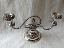 Pretty Old candle holder... SILVER PLATE MADE IN Lanthe dell' Inghilterra