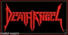 DEATH ANGEL EMBROIDERED PATCH CLASSIC THRASH ANTHRAX NUCLEAR ASSAULT Metal Negro