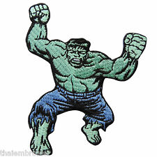 The Hulk Green Logo Avengers Hero Superhero Cartoon Kids Iron on Patches #C020