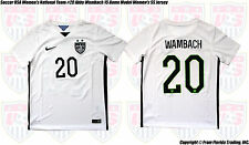Soccer USA Women's National Team #20 Wambach 15 Home Model Kid's NIKE Jersey(S)