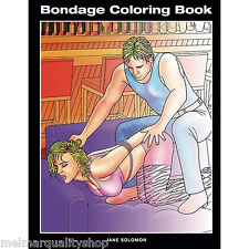 Coloring Book for Adults Sexy Bondage Patterns Anti Stress Relief Calm Gift New