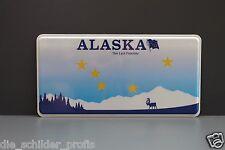 US AUTO USA CAR ALASKA State Kennzeichen, Schild Nummernschild DEIN WUNSCH TEXT
