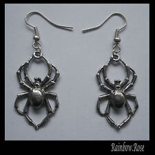 Pewter Earrings #107 – Spider GOTH SPIDERS