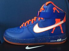 Nike Air Force 1 HI CMFT PRM QS sz 13 Rasheed Wallace Knicks Blue 624185-400