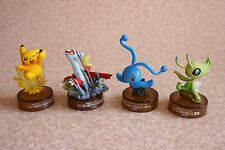 Kaiyodo Nintendo Pokemon Bottle Cap Figure Pikachu Manaphy Celebi Latias Mini