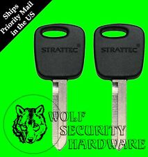 Lot of 2 Ford Mercury PATS Transponder RFID Security Chip Key Blank 692055
