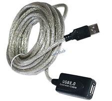 10 metri Cavo USB 2.0 M-F A-A Prolunga Amplificata Attiva Maschio Femmina per PC