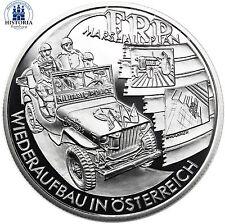 Österreich 20 Euro Silber 2003 PP Im Wandel der Zeit: Nachkriegzeit Wiederaufbau