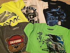 Tony Hawk Boys 100% Polyster  T-Shirts ( 5 T-shirts), Size Small  NWT
