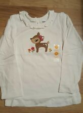 Gymboree girls top with deer 4 years old