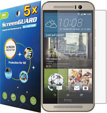 5x Clear LCD Screen Protector Guard Film for HTC ONE (M9) Windows / HTC ONE M9