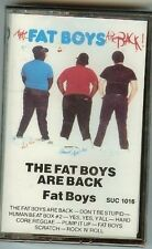 THE FAT BOYS - THE FAT BOYS ARE BACK - CASSETTE - NEW