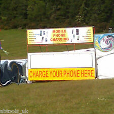 Mobile Phone Charging Trailer Business Festival Display Unit Catering Conversion