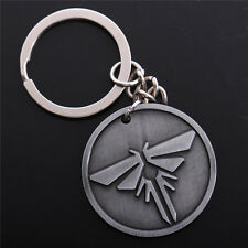 The Last of US Theme Metal Keychain Key Ring Pendant Collectible Gift