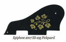 ES 295 ES-295 ES-175 P-90 Black & Gold Floral Pickguard for Epiphone Project NEW
