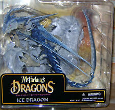 ICE DRAGON McFarlane's Dragons Series 6 - The Fall of the Dragon Kingdom Ice Dra