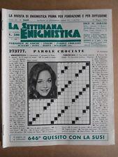 Settimana Enigmistica n°2669 del 21-05-1983 - Mary Crosby   [D53]