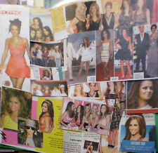 CHERYL COLE girls aloud ISRAEL CLIPPINGS CUTTINGS Fernandez Versini Tweedy