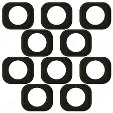 10x iPhone 5 5C 5G Home Button Rubber Gasket Adhesive Sticker Holder Replacement