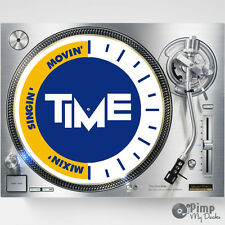 TIME DJ SLIPMATS / SLIP MATS X 2 - TECHNICS - ITALO DANCE / EURODANCE - ZONE