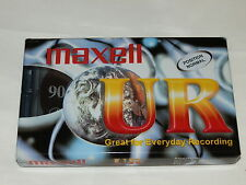 Maxell UR C90 Position Normal Sealed Audio Cassette Tape Type I