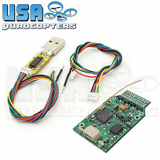 Micro MWC Brushed Flight Controller ESCs Integrated DSM2 Rx + USB Programmer