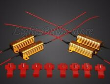 4pcs DC 12V 50W 6 Ohm LED Load Resistor For Turn Signal Light 1157 15mm X 50mm