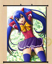 Anime Fairy Tail Wendy Marvell Home Decor Poster Wall Scroll 40*55cm#5-CH-13
