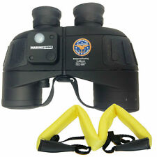 MARINE ZONE BINOCULAR 7X50 WITH COMPASS & CASE, WATERPROOF, DISTANCE CALCULATOR