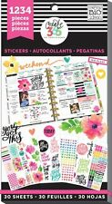 """MAMBI The Happy Planner """"Today Is The Day"""" VALUE PACK Stickers 30shts-1234 pcs"""