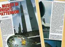 Q62 Clipping-Ritaglio 1993 Il museo di Wright - Patterson Dayton Ohio