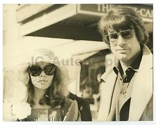 Warren Beatty and Michelle Phillips - Vintage 8x10 by Peter Warrack